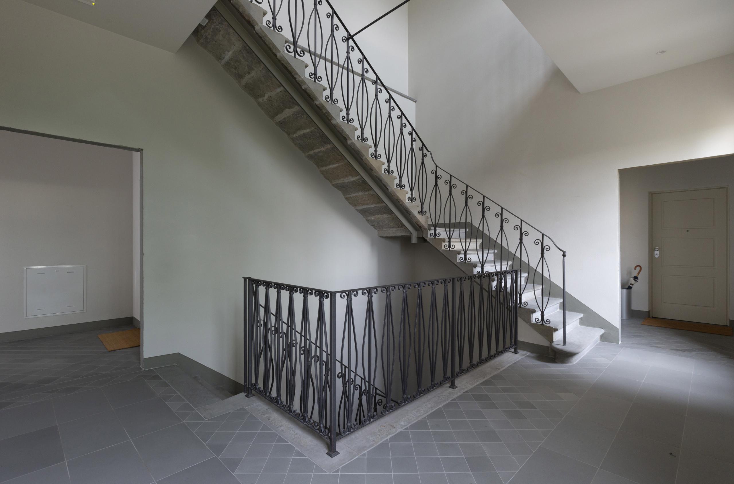 scale palagio dei corbinelli dopo